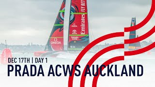 Full Race Replay | Day 1 | PRADA America's Cup World Series Auckland, NZ