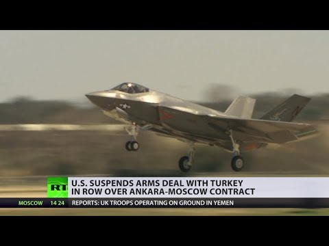 US halts F-35 deliveries to Turkey over Russian S-400s purchase
