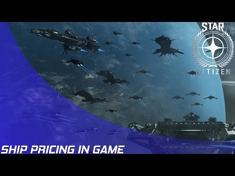 Star Citizen: Ship Pricing in Game