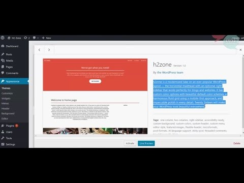 How to make custom theme from html in wordpress part 1of2 - YouTube