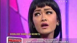 rumpi no secret trans tv JULIA PERES- 20 Januari 2015