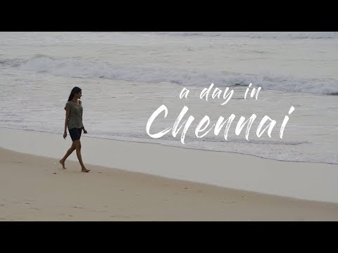 A Day in Chennai | City Experience | Cinematic Travel Video | Sony a7iii