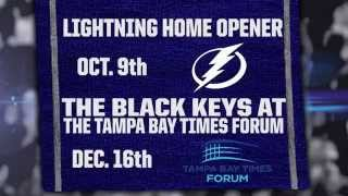 The Black Keys Live December 16th at the Tampa Bay Times Forum