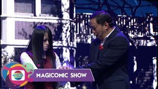 SERAM!! Pandji Ketakutan  Main-Main Arwah Bareng The Secret Riana - Magicomic Show
