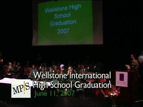 2007 Wellstone International High School Graduation