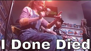 I Done Died - Chris Rodrigues & Abby the Spoon Lady (WDVX Blue Plate)