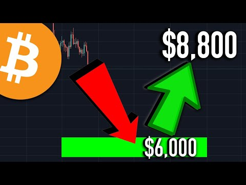 $8,000 BITCOIN THIS WEEK - Bitcoin Price Crash Rebound Analysis