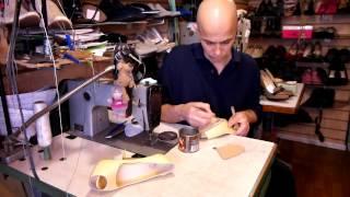 Ремонт обуви, видео урок, как поставить профилактику часть3