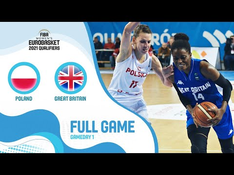 Poland v Great Britain - Full Game - FIBA Women's EuroBasket 2021 Qualifiers