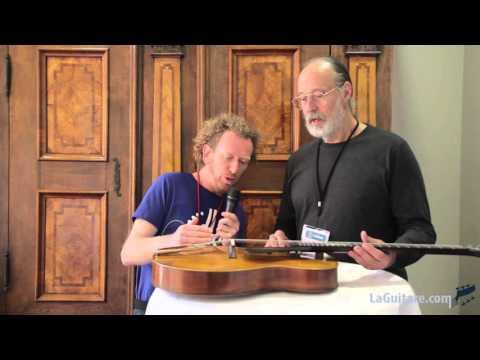 The Holy Grail Guitar Show 2015 - Interview de Ken Parker par Fred Kopo