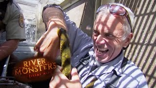 The Lamprey Trap - River Monsters