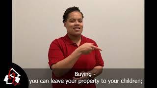 Buy Vs.  Rent. In ASL