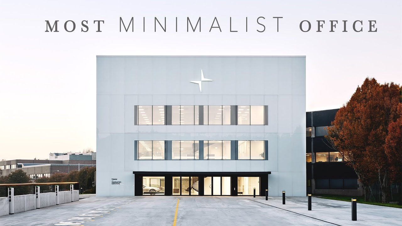 The World S Most Minimalist Office Tour Youtube