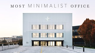 THE WORLD'S MOST MINIMALIST OFFICE  // tour