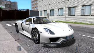 City Car Driving #002 - PORSCHE 918 Spyder [ Logitech G27 ]