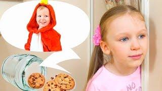 Кто печенье из банки взял? Песенка для детей
