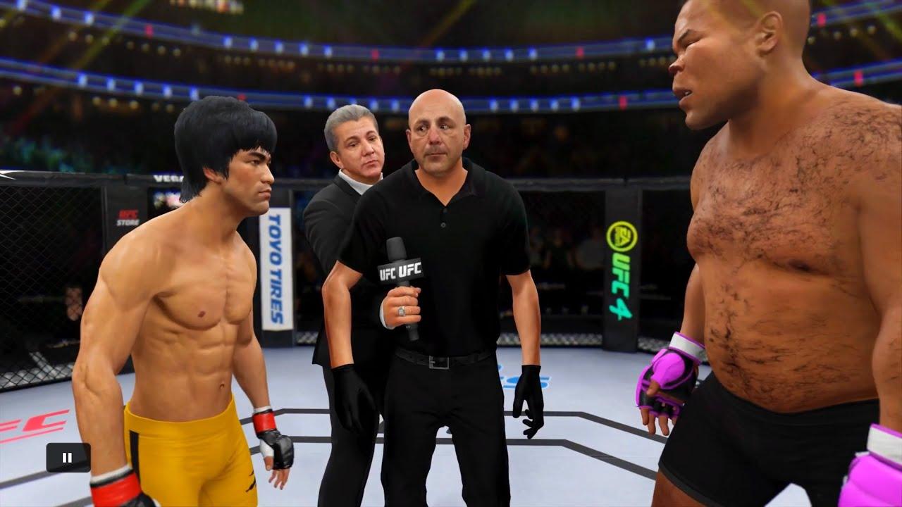 Bruce Lee vs. Pumbaa - EA sports UFC 4