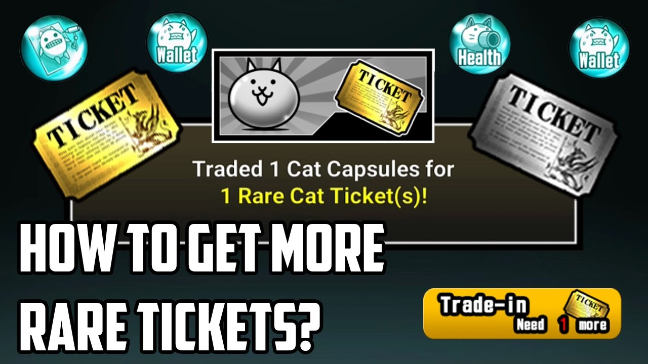 The Battle Cats | How to get more Rare Tickets? (Guide)
