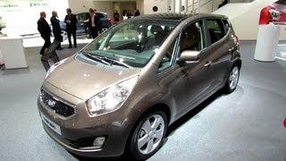 2013 KIA Venga Diesel - Exterior and Interior Walkaround - 2013 Paris Auto Show