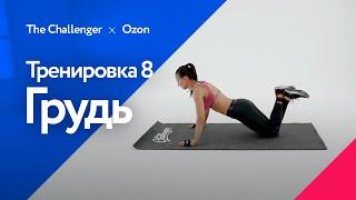 Жиросжигающая тренировка с акцентом на грудные мышцы