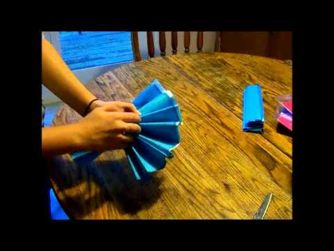 How To: Make Tissue Paper Pom-Poms