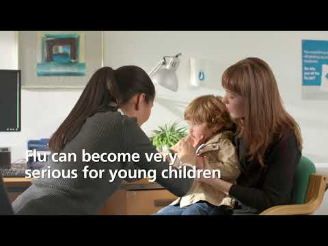 Get the free flu nasal spray for young children