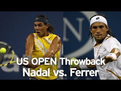 US Open Throwback: Rafael Nadal Vs. David Ferrer (2007)