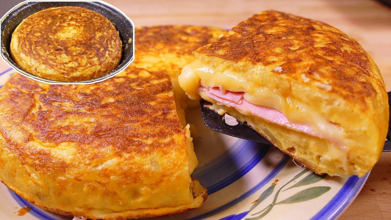 Tasty spanish potato omelette sandwich style easy food recipes for tasty spanish potato omelette sandwich style easy food recipes for dinner to make at home forumfinder Gallery