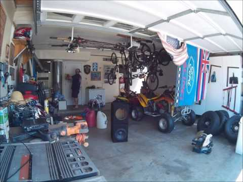 TIME LAPSE GARAGE CLEANING ON MY LAST VACATION DAY AUGUST 2016