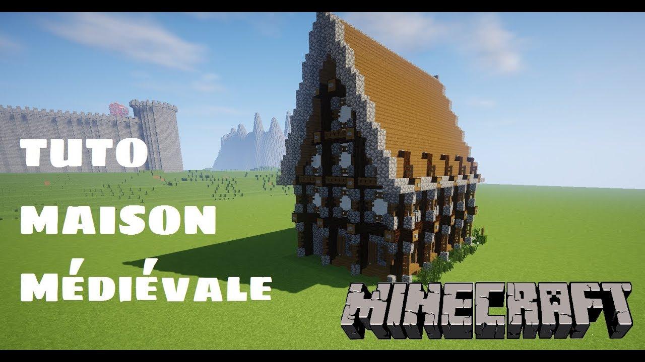 Minecraft Tuto Maison Médiévale Easy