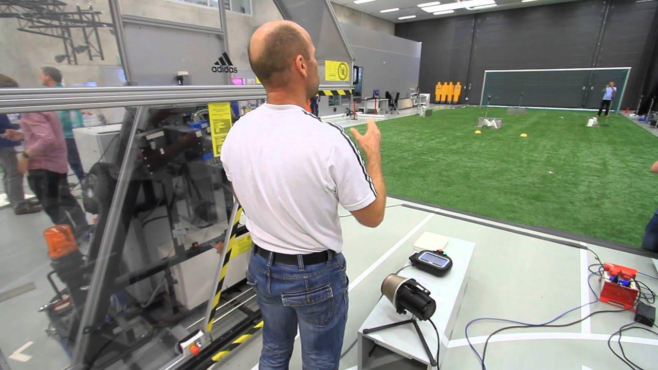 soccer kicking machine