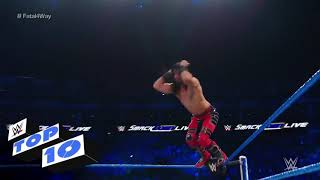 Samkdown live 2019 wwe fight