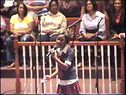 11 year old comes out off Rockstar at Gospel Musical