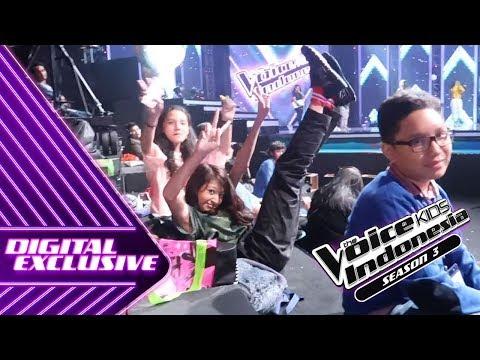 Maen Jujur-Jujuran Yuuuukkk!!! | VLOG #13 | The Voice Kids Indonesia S3 GTV 2018