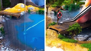 AN ARTIST CREATES EYE-CATCHING AND DETAILED DIORAMAS THAT WILL IMPRESS YOU