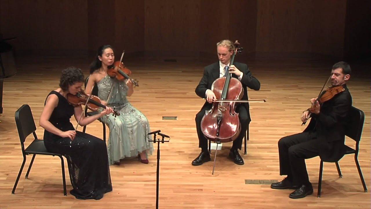 Chiara Quartet Plays Ravel by Heart