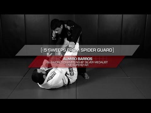 BJJ: 5 Essential Spider Guard Sweeps | Evolve University