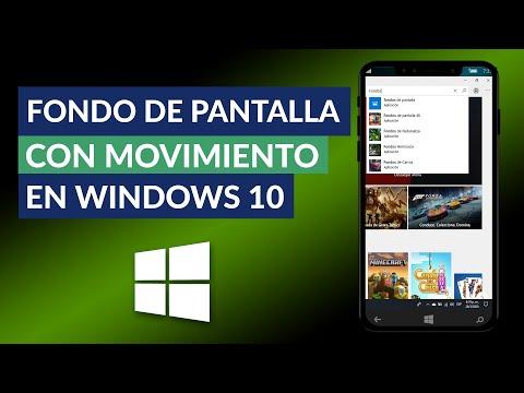 Cómo Poner Fondo de Pantalla con Movimiento en Windows 10 - Fondos Animados para PC