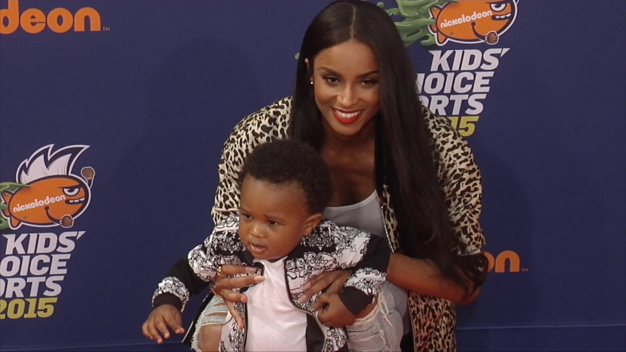 Ciaras Son Future Zahir Wilburn: Ciara & Future Zahir Wilburn // Kids' Choice Sports 2015