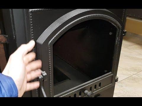 Смотреть всем, кто делает себе печь с огромной дверцей со стеклом или покупает дешёвую с телеэкраном