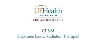 Radiation Therapist Stephanie Lewis Explains CT Simulation Equipment