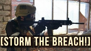 Storm The Breach! | Swat Fortress Airsoft