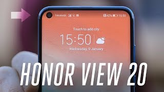 Honor View 20 hands-on: the future of bezel-less phones | CES 2019 | Honor