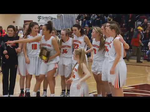 The Frenchtown Lady Broncs unlikely district title run