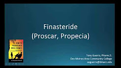 (CC) How to Pronounce finasteride brand name Proscar, Propecia Backbuilding