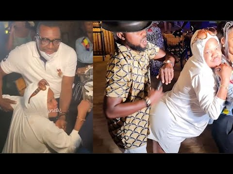 Download 'Respect'– See What Toyin Abraham Did To Her Husband As She Kneel Down To Great Ali Baba. Iyabo Ojo