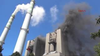 Çatalağzı Termik Santrali'nde yangın