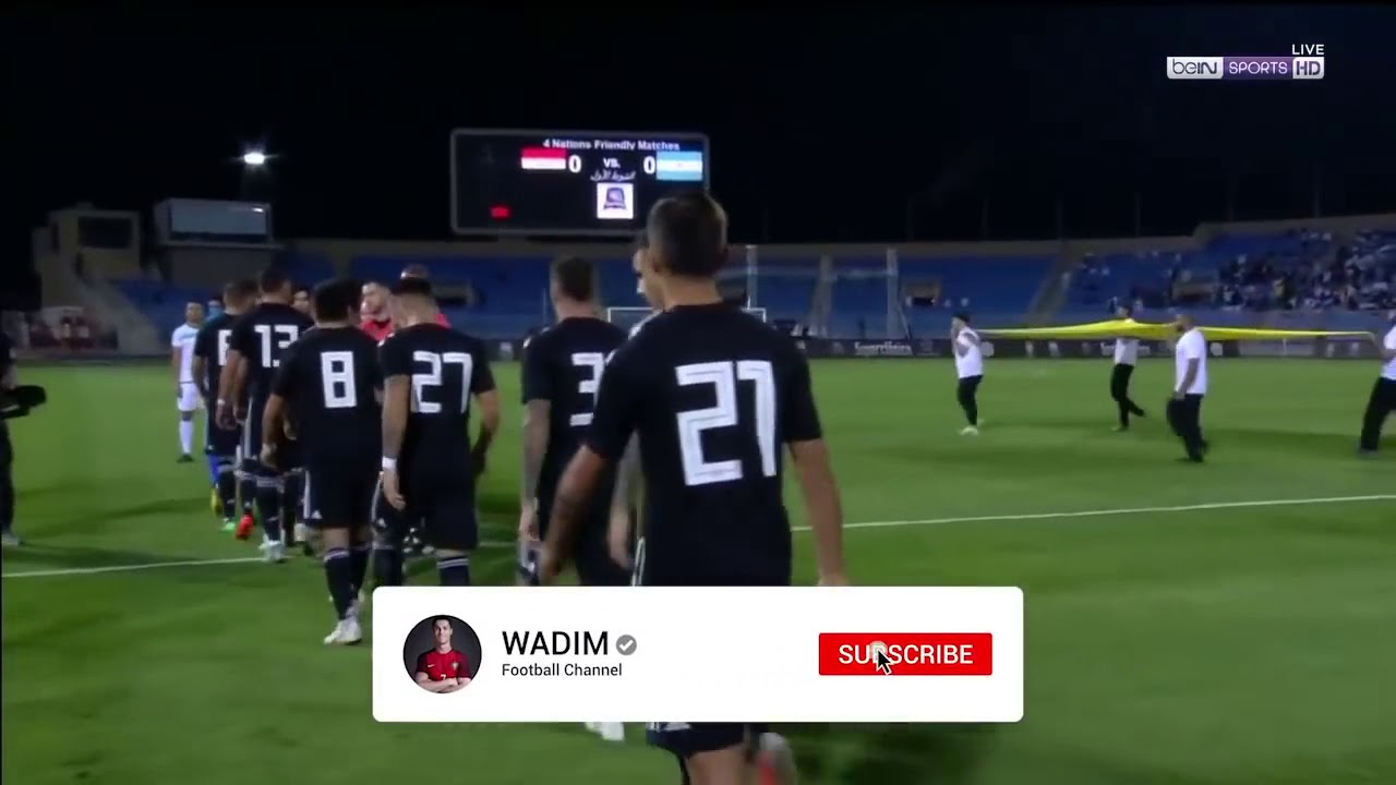 Download Argentina vs Iraq 4-0 English commentery HD