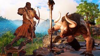 CZŁOWIEK vs MINOTAUR (Assassin's Creed Odyssey)