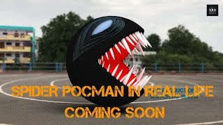 Spider PacMan in real life !! coming soon